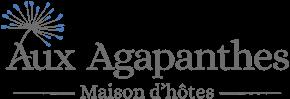 Logo Aux Agapanthes, Chambres d'hôtes à Rochefort-en-Terre, Morbihan (56), Bretagne